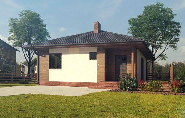 c13d9b0db Компактні та сучасні будинки до 100 м. кв. за помірною ціною від Сервус